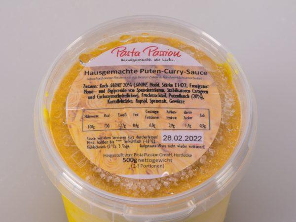 puten curry sauce