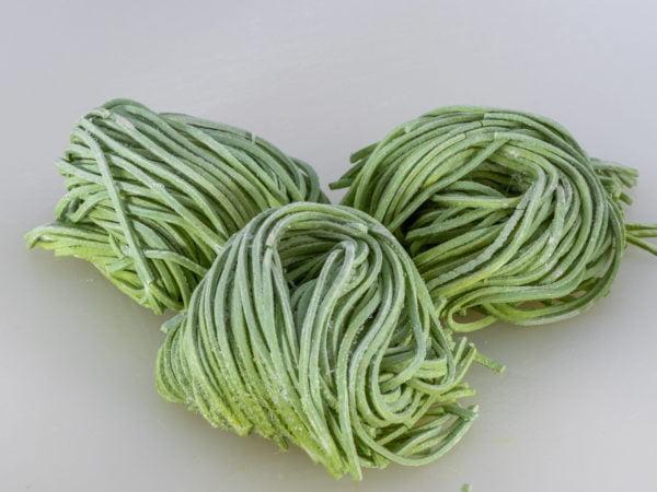 spinat spaghetti